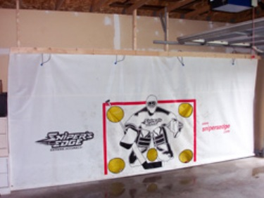 Sniper's Edge Hockey Shooting Tarp