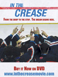 In The Crease Hockey Movie DVD